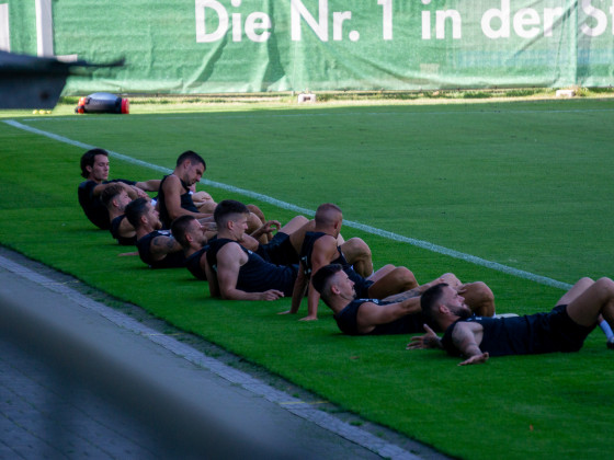 Trainingsauftakt Saison 20/21